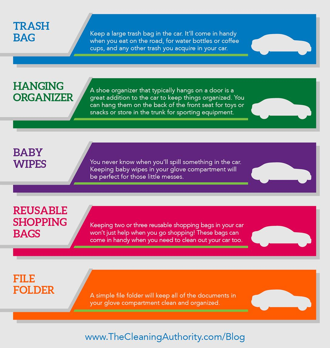 Infographic: Five Car Essentials